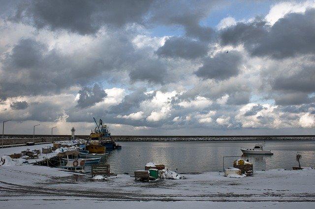 zimní rybolov