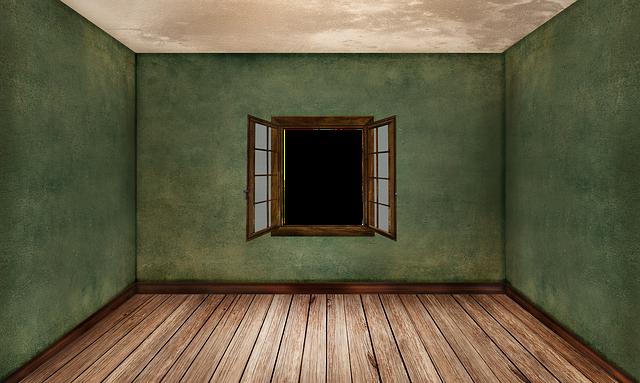 zelená místnost